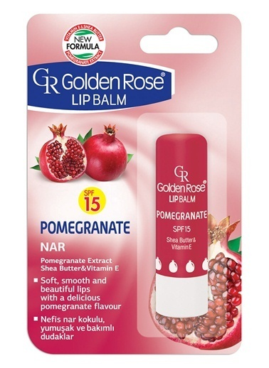 Gr.Lıp Balm Pomegranate Spf 15 No:08-Golden Rose